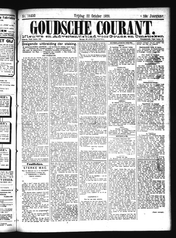 Goudsche Courant 1920-10-22