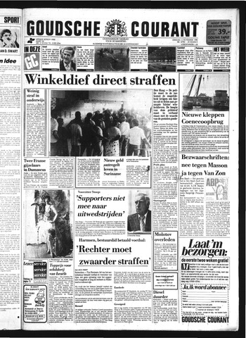 Goudsche Courant 1986-11-11