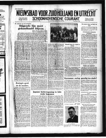 Schoonhovensche Courant 1951-05-11