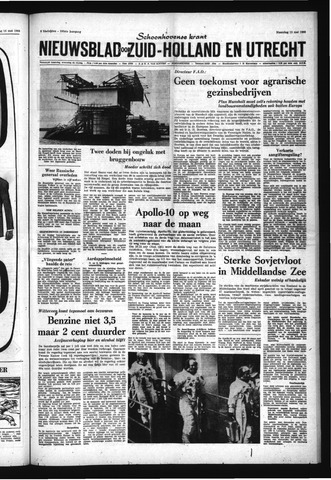 Schoonhovensche Courant 1969-05-19