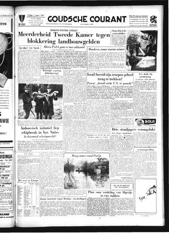 Goudsche Courant 1957-03-01