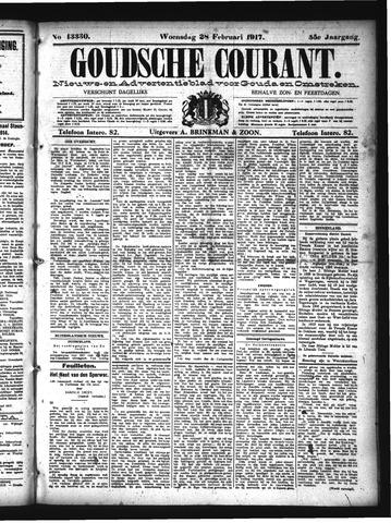 Goudsche Courant 1917-02-28