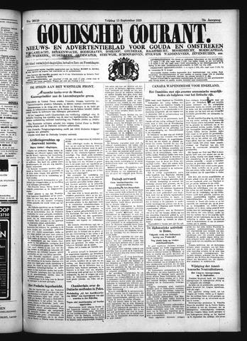 Goudsche Courant 1939-09-15