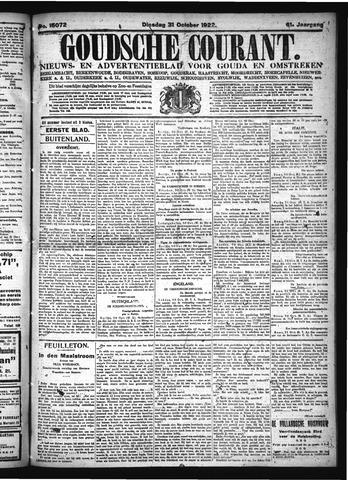 Goudsche Courant 1922-10-31