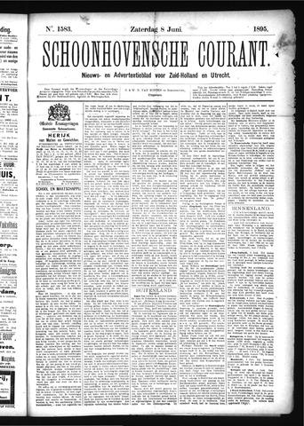 Schoonhovensche Courant 1895-06-08