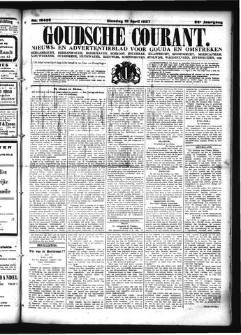 Goudsche Courant 1927-04-19