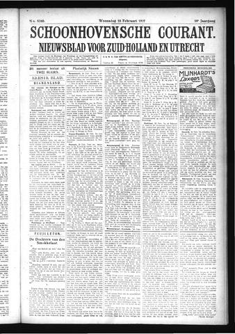 Schoonhovensche Courant 1927-02-23