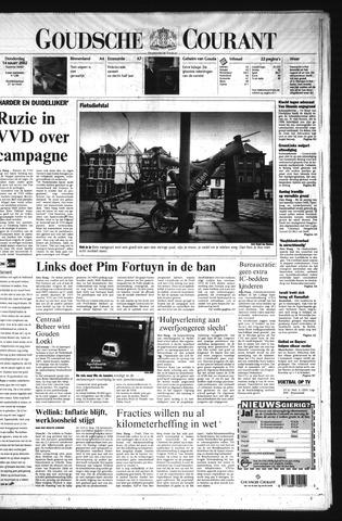 Goudsche Courant 2002-03-14