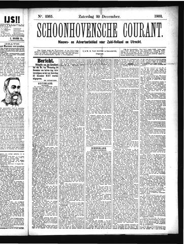 Schoonhovensche Courant 1902-12-20