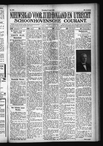 Schoonhovensche Courant 1928-04-18