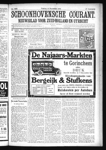 Schoonhovensche Courant 1925-11-13