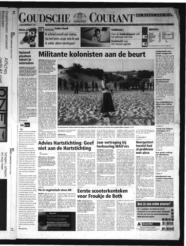 Goudsche Courant 2005-08-18