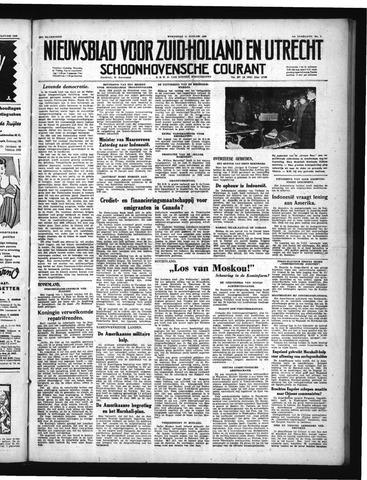 Schoonhovensche Courant 1950-01-11