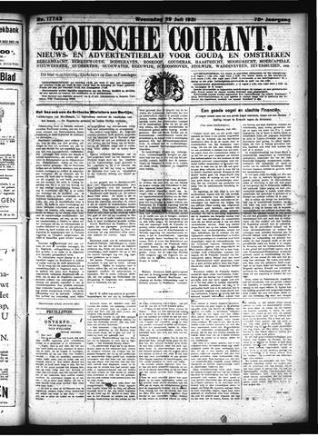Goudsche Courant 1931-07-29