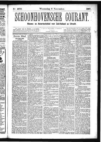 Schoonhovensche Courant 1907-11-06