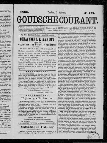 Goudsche Courant 1866-10-07