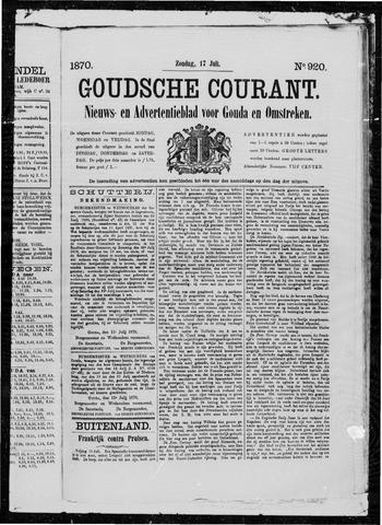 Goudsche Courant 1870-07-17