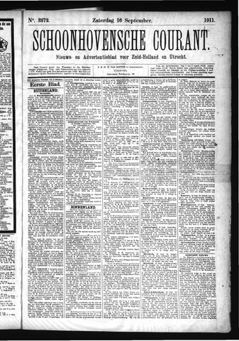 Schoonhovensche Courant 1911-09-16