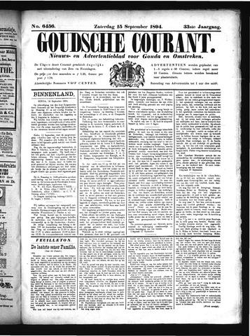 Goudsche Courant 1894-09-15