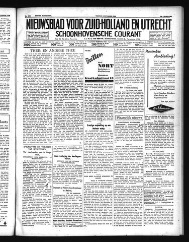 Schoonhovensche Courant 1938-11-04