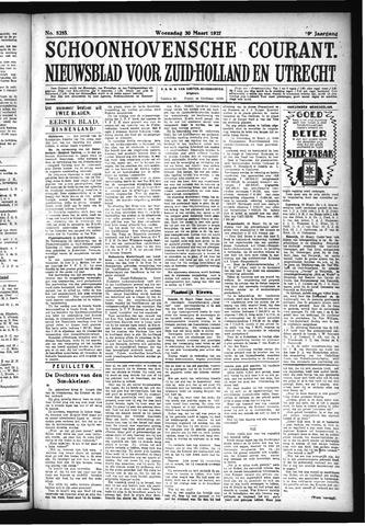 Schoonhovensche Courant 1927-03-30