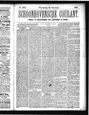 Schoonhovensche Courant 1901-02-20