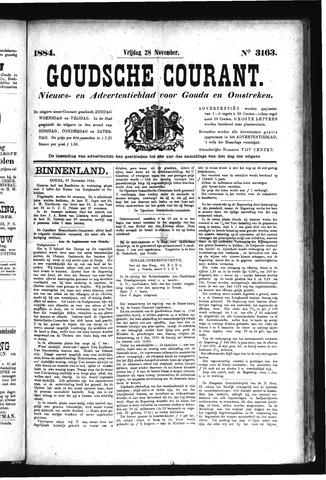 Goudsche Courant 1884-11-28