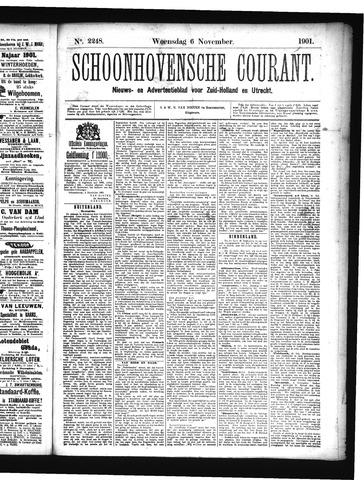 Schoonhovensche Courant 1901-11-06