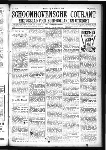 Schoonhovensche Courant 1926-10-20