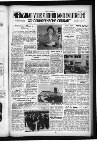 Schoonhovensche Courant 1957-12-16