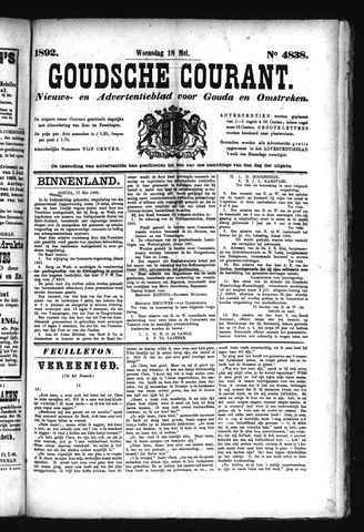 Goudsche Courant 1892-05-18