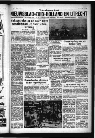 Schoonhovensche Courant 1968-05-27