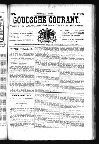 Goudsche Courant 1892-03-31