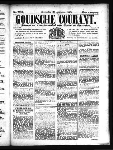 Goudsche Courant 1898-08-24