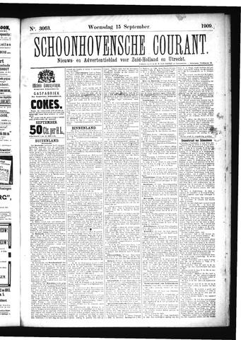 Schoonhovensche Courant 1909-09-15