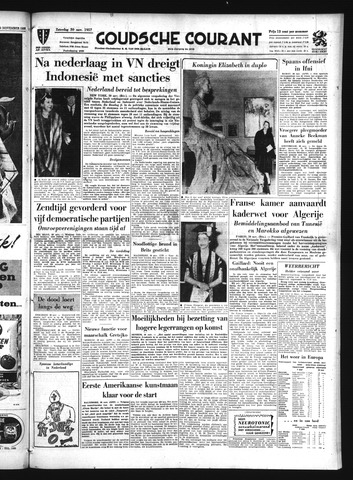 Goudsche Courant 1957-11-30