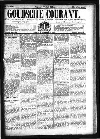 Goudsche Courant 1914-07-17