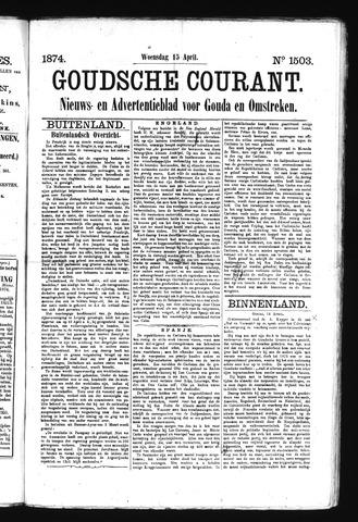 Goudsche Courant 1874-04-15