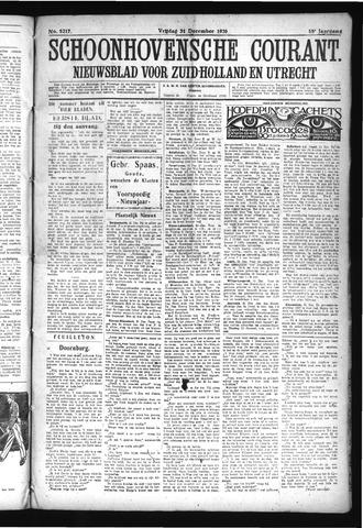 Schoonhovensche Courant 1926-12-31