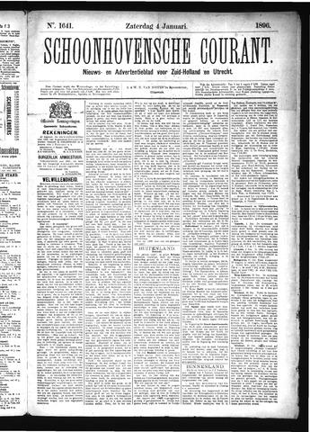 Schoonhovensche Courant 1896-01-04