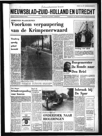 Schoonhovensche Courant 1977-07-01