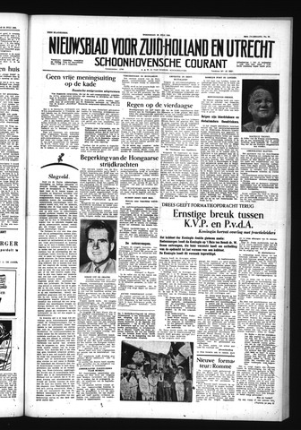 Schoonhovensche Courant 1956-07-25