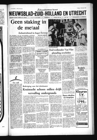 Schoonhovensche Courant 1972-02-04