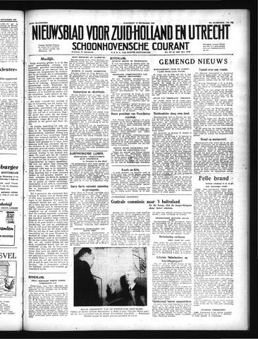Schoonhovensche Courant 1949-09-14
