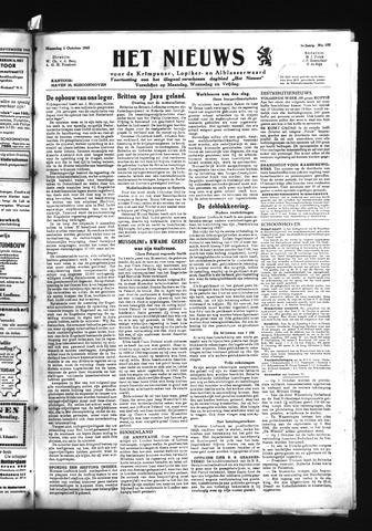 Schoonhovensche Courant 1945-10-01