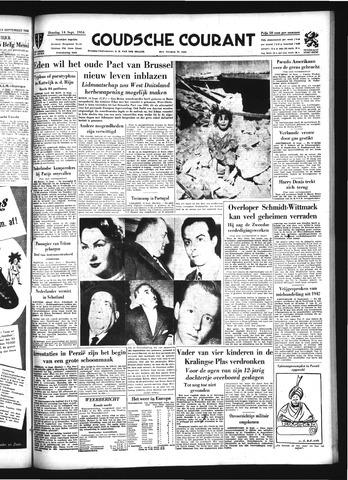Goudsche Courant 1954-09-14