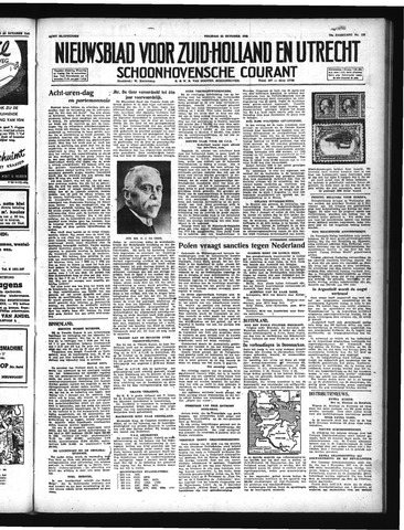 Schoonhovensche Courant 1947-10-31
