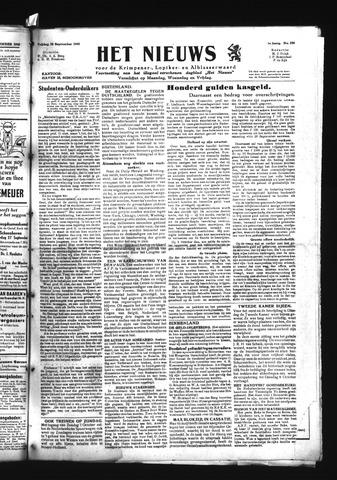 Schoonhovensche Courant 1945-09-28