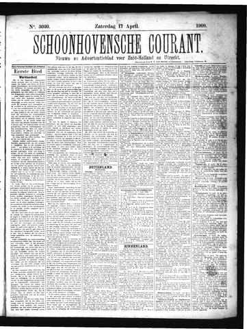 Schoonhovensche Courant 1909-04-17