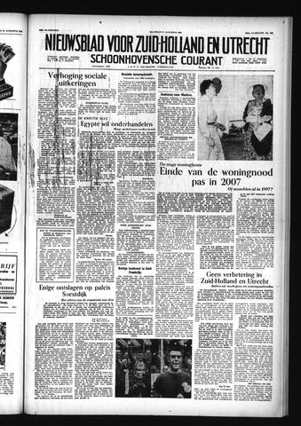 Schoonhovensche Courant 1956-08-27